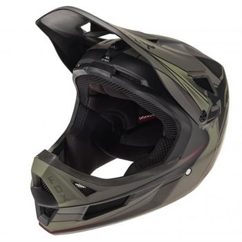 CASQUE FOX RAMPAGE PRO CARBON KUSTM