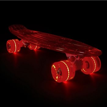 PLANCHE PENNY BOARD SUNSET ROUGE